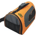 Soft-Sided Pet Travel Carrier (Airline Approved) for Small Cats, Puppies and Other Pets by Pet Magasin (Small, Orange)