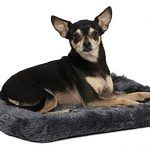 """18L-Inch Gray Dog Bed or Cat Bed w/ Comfortable Bolster 